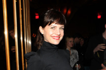 "NEW YORK - MARCH 05:  Carla Gugino attends the after party for the Cinema Society & People StyleWatch with Grey Goose screening of ""Friends With Kids"" at the The Top of The Standard on March 5, 2012 in New York City.  (Photo by Larry Busacca/Getty Images)"
