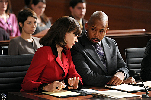 """Gloves Come Off"" -- Alicia (Julianna Margulies) and Julius (Michael Boatman) represent a man who was injured and lost his wife in a snowmobile accident, but they must prove that his former career playing professional hockey did not impair his ability to drive the vehicle, on THE GOOD WIFE, Sunday, March 18 (9:00-10:00 PM ET/PT) on the CBS Television Network. Photo: David M. Russell/CBS ?'??2012 CBS Broadcasting, Inc. All Rights Reserved"