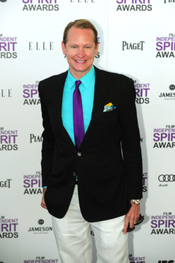 TV personality Carson Kressley arrives on the red carpet on February 25, 2012 for the Independent Spirit Awards in Santa Monica, California. AFP PHOTO/FREDERIC J.BROWN (Photo credit should read FREDERIC J. BROWN/AFP/Getty Images)