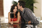 "COUGAR TOWN - ""Something Big"" - Just as Jules is trying to work through Grayson's ""baggage"" from his wild single days, a chance encounter with a former fling, Holly (guest star Briga Heelan), ends with him learning that he's the father of a one-year-old baby girl he never knew he had, on ""Cougar Town,"" TUESDAY, MARCH 20 (8:30-9:00 p.m., ET) on ABC. (ABC/JORDIN ALTHAUS) COURTENEY COX, JOSH HOPKINS"