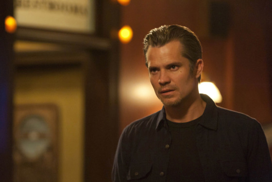 JUSTIFIED: Episode 10: Guy Walks into a Bar (Airs March 20, 10:00 pm e/p). Timothy Olyphant. CR: Prashant Gupta / FX.