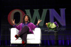 PASADENA, CA - JANUARY 06:  Oprah Winfrey speaks during the OWN: Oprah Winfrey Network portion of the 2011 Winter TCA press tour held at the Langham Hotel on January 6, 2011 in Pasadena, California.  (Photo by Frederick M. Brown/Getty Images) *** Local Caption *** Oprah Winfrey