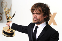 LOS ANGELES, CA - SEPTEMBER 18:  Actor Peter Dinklage of 'Game of Thrones' poses in the press room after winning outstanding supporting actor in a drama series 2011 during the 63rd Annual Primetime Emmy Awards held at Nokia Theatre L.A. LIVE on September 18, 2011 in Los Angeles, California.  (Photo by Frazer Harrison/Getty Images)