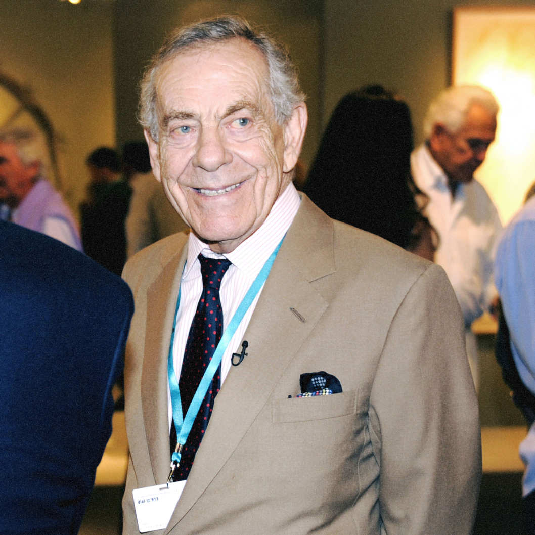 Morley Safer==ART BASEL MIAMI BEACH 2011==Miami Beach Convention Center, Miami, FL==November 30, 2011==?Patrick McMullan==Photo - CLINT SPAULDING/PatrickMcMullan.com====
