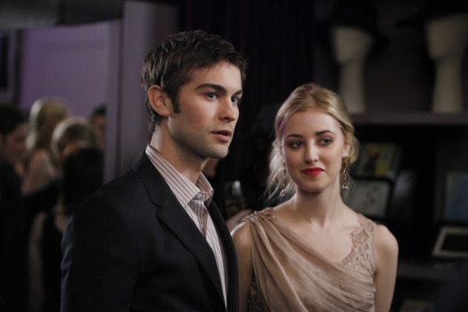 "Gossip Girl""It Girl Interupted"" Pictured (L-R) Chace Crawford as Nate and Ella Rae Peck as Lola."