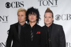NEW YORK - JUNE 13:  (L-R) Musicians Mike Dirnt, Billy Joe Armstrong and Tre Cool of Green Day attend the 64th Annual Tony Awards at Radio City Music Hall on June 13, 2010 in New York City.  (Photo by Bryan Bedder/Getty Images) *** Local Caption *** Mike Dirnt;Billy Joe Armstrong;Tre Cool