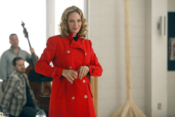 "SMASH -- ""The Movie Star"" Episode 111 -- Pictured: Uma Thurman as Rebecca Duvall -- (Photo by: Will Hart/NBC)"