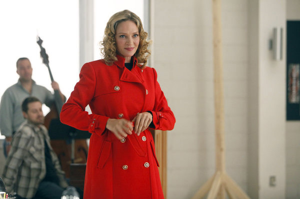 "SMASH -- ""The Movie Star"" Episode 111 -- Pictured: Uma Thurman as Rebecca Duvall."