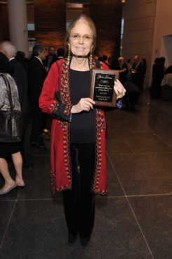 "Gloria Steinem==Brooklyn Museum's Annual Gala ""The Brooklyn Artists Ball""==The Brooklyn Museum, NYC==April 18, 2012."
