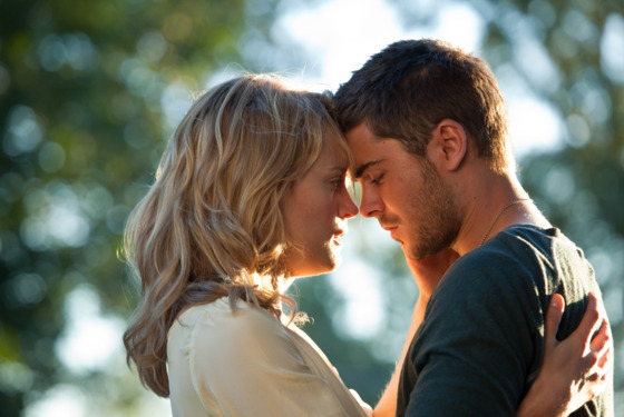 "(L-r) TAYLOR SCHILLING as Beth Green and ZAC EFRON as Logan Thibault in Warner Bros. Pictures' and Village Roadshow Pictures' romantic drama ""THE LUCKY ONE,"" a Warner Bros. Pictures release."