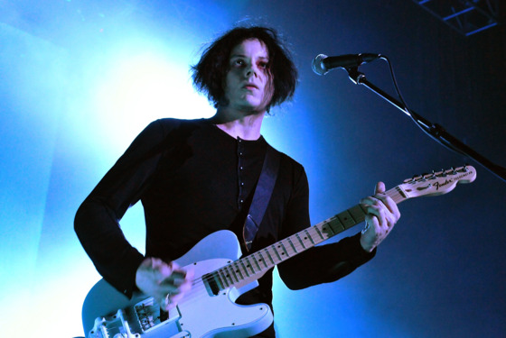 LONDON, ENGLAND - APRIL 23:  Musician Jack White performs live on stage during a one-off solo concert in support of his debut solo album 'Blunderbuss', at the Kentish Town Forum on April 23, 2012 in London, United Kingdom.  (Photo by Jim Dyson/Redferns via Getty Images)