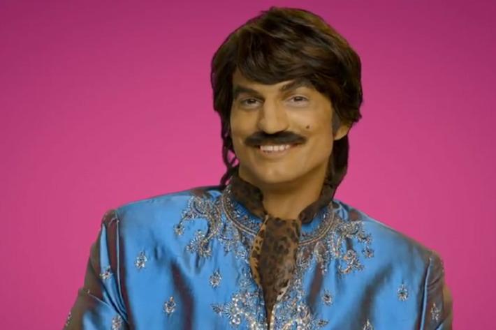 """No more chips for Ashton """"Raj"""" Kutcher."""