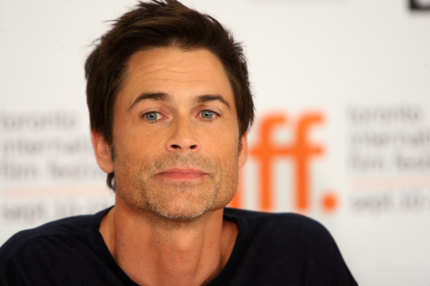 "TORONTO, ON - SEPTEMBER 14:  Actor Rob Lowe speaks onstage at the ""Invention Of Lying"" press conference held at the Scotiabank Theatre on September 14, 2009 in Toronto, Canada.  (Photo by Jason Merritt/Getty Images) *** Local Caption *** Rob Lowe"