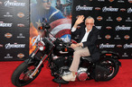 "HOLLYWOOD, CA - APRIL 11:  Writer/producer Stan Lee arrives at the premiere of Marvel Studios' ""The Avengers"" at the El Capitan Theatre on April 11, 2012 in Hollywood, California.  (Photo by Kevin Winter/Getty Images)"