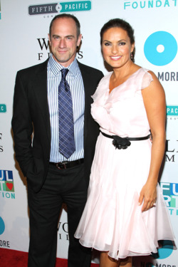 NEW YORK, NY - MAY 09:  Mariska Hargitay and Chris Meloni attend The 5th Annual Joyful Revolution Gala at Cipriani Wall Street on May 9, 2012 in New York City.  (Photo by Rob Kim/Getty Images)
