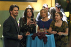 "PARENTHOOD -- ""Forced Family Fun"" Episode 307 -- Pictured: (l-r) Jason Ritter as Mark Cyr, Lauren Graham as Sarah Braverman, Erika Christensen as Julia Braverman-Graham, Mae Whitman as Amber Holt -- Photo by: Trae Patton/NBC"