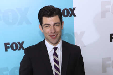 Max Greenfield - FOX 2012 Programming Presentation Post Show Party