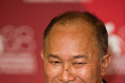 "Producer John Woo poses during the ""Warriors Of The Rainbow: Seediq Bale"" photocall at the Palazzo Del Cinema during the 68th Venice Film Festival on September 1, 2011 in Venice, Italy."