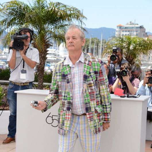 "Actor Bill Murray poses at the ""Moonrise Kingdom"" photocall during the 65th Annual Cannes Film Festival at Palais des Festivals on May 16, 2012 in Cannes, France."