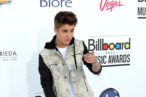 Celebs arrive at the 2012 Billboard Music Awards held at the MGM Grand Garden Arena on May 20, 2012 in Las Vegas, Nevada <P> Pictured: Justin Bieber <B>Ref: SPL395675  200512  </B><BR/> Picture by: Splash News<BR/> </P><P> <B>Splash News and Pictures</B><BR/> Los Angeles:310-821-2666<BR/> New York:212-619-2666<BR/> London:870-934-2666<BR/> photodesk@splashnews.com<BR/> </P>