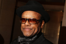 CLEVELAND - APRIL 04:  Musician Bobby Womack attends the 24th Annual Rock and Roll Hall of FameInduction Ceremony at Public Hall on April 4, 2009 in Cleveland, Ohio.  (Photo by Stephen Lovekin/Getty Images) *** Local Caption *** Bobby Womack