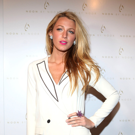 Blake Lively attends the Noon By Noor Fall 2012 presentation during Mercedes-Benz Fashion Week