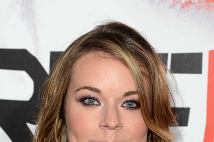 Actress Tina Majorino arrives at the premiere of HBO 'True Blood' season 5 premiere