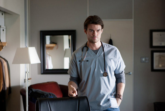 "SAVING HOPE -- ""Pilot"" Ep 101 -- Pictured: Daniel Gillies as Dr. Joel Goran -- (Photo by: Rafy/NBC)"