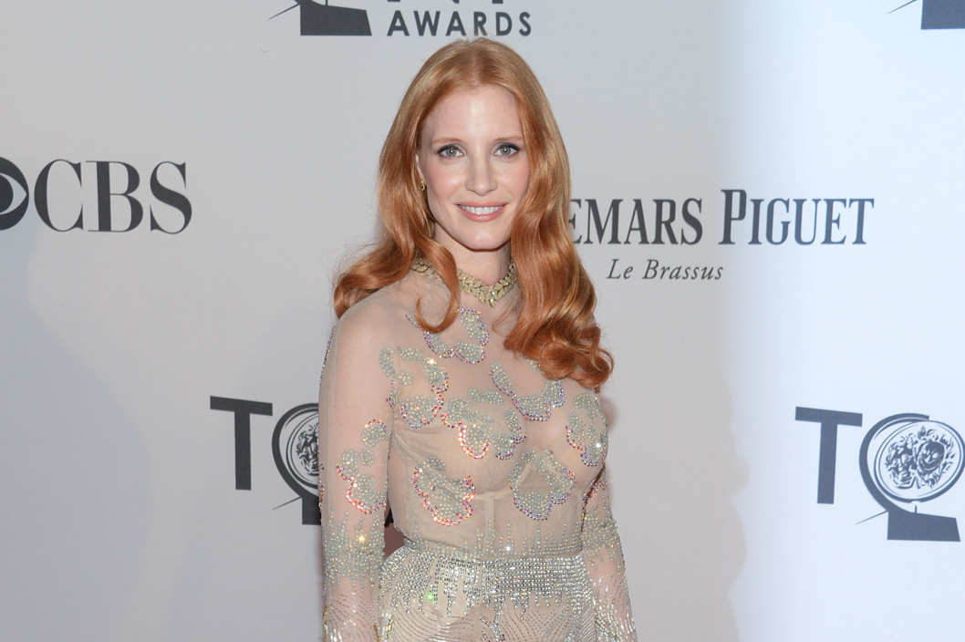 NEW YORK, NY - JUNE 10:  Actress Jessica Chastain attends the 66th Annual Tony Awards at The Beacon Theatre on June 10, 2012 in New York City.  (Photo by Mike Coppola/Getty Images)