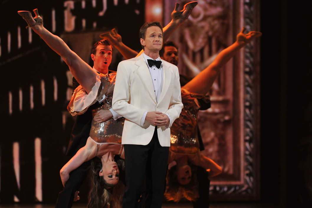 NEW YORK, NY - JUNE 10:  Neil Patrick Harris onstage at the 66th Annual Tony Awards at The Beacon Theatre on June 10, 2012 in New York City.  (Photo by Theo Wargo/Getty Images)