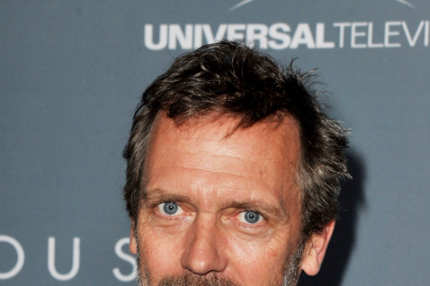 "LOS ANGELES, CA - APRIL 20:  Actor Hugh Laurie arrives at Fox's ""House"" series finale wrap party at Cicada on April 20, 2012 in Los Angeles, California.  (Photo by Kevin Winter/Getty Images)"