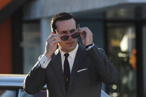 Don Draper (Jon Hamm) - Mad Men - Season 5, Episode 6 - Photo Credit: Michael Yarish/AMC
