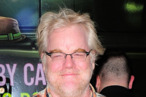 Philip Seymour Hoffman== OPENING NIGHT CELEBRATION FOR THE MOTHERF**KER WITH THE HAT== Gerald Schoenfeld Theatre, NYC== April  11,  2011== ©Patrick McMullan== Photo -RODIN BANICA/PatrickMcMullan.com== ==