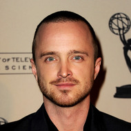"LOS ANGELES, CA - FEBRUARY 23:  Actor Aaron Paul arrives at The Academy of Television Arts & Sciences Presents an Evening with ""Breaking Bad"" at the Leonard H. Goldenson Theatre on February 23, 2012 in North Hollywood, California.  (Photo by Kevin Winter/Getty Images)"