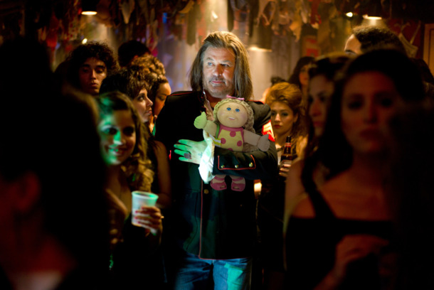 "ROA-004621 (Center) ALEC BALDWIN as Dennis Dupree in New Line Cinema's rock musical ""ROCK OF AGES,"" a Warner Bros. Pictures release."
