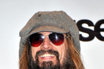 Musician Rob Zombie poses in the press room at the 26th annual Rock and Roll Hall of Fame Induction Ceremony at The Waldorf=Astoria on March 14, 2011