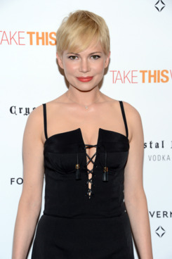 "NEW YORK, NY - JUNE 21:  Actress Michelle Williams attends the ""Take This Waltz"" Special New York Screening at Sunshine Landmark"