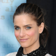 HOLLYWOOD, CA - FEBRUARY 19:  Actress Amanda Peet arrives at the 2012 Writers Guild Awards at the Hollywood Palladium on February 19, 2012 in Los Angeles, California.  (Photo by Jason Merritt/Getty Images)