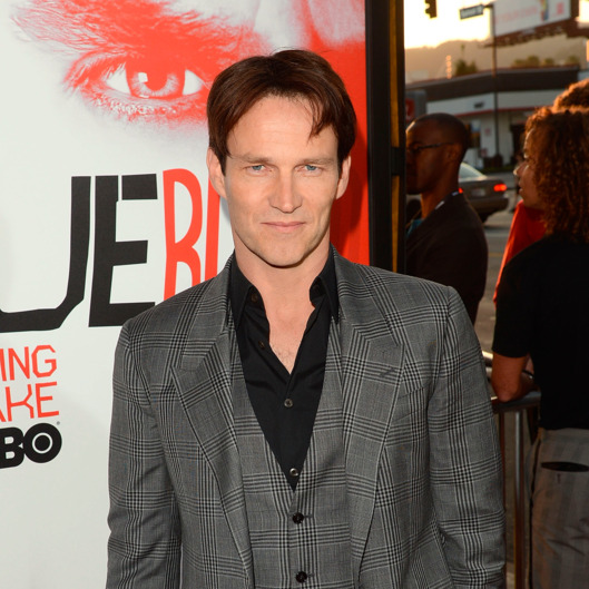 "Actors Stephen Moyer arrives at the premiere of HBO's ""True Blood"" 5th Season held at the ArcLight Cinemas Cinerama Dome"