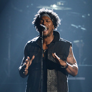 LOS ANGELES, CA - JULY 01:  Singer D'Angelo performs onstage during the 2012 BET Awards at The Shrine Auditorium on July 1, 2012 in Los Angeles, California.  (Photo by Michael Buckner/Getty Images For BET)