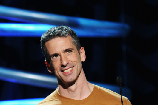 NEW YORK, NY - JUNE 13:  Dan Savage speaks onstage during the 15th Annual Webby Awards at Hammerstein Ballroom on June 13, 2011 in New York City.  (Photo by Jamie McCarthy/Getty Images for The Webby Awards)