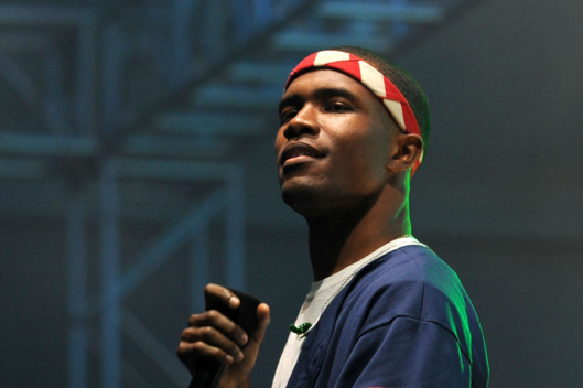 INDIO, CA - APRIL 13:  Frank Ocean performs during the 2012 Coachella Music Festival at The Empire Polo Club on April 13, 2012 in Indio, California.  (Photo by C Flanigan/FilmMagic)