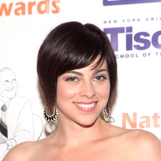 Krysta Rodriguez attends the 4th Annual High School Musical Theater Awards at Minskoff Theatre on June 25, 2012 in New York City.