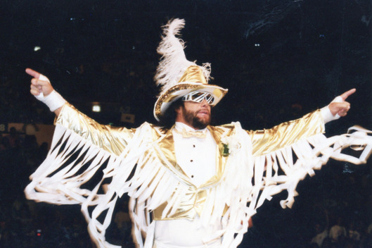 Randy Savage in New York City circa 1991.