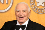 LOS ANGELES, CA - JANUARY 30:  Life Achievement Award recipient actor Ernest Borgnine poses in the press room during the 17th Annual Screen Actors Guild Awards held at The Shrine Auditorium on January 30, 2011 in Los Angeles, California.  (Photo by Jason Merritt/Getty Images) *** Local Caption *** Ernest Borgnine