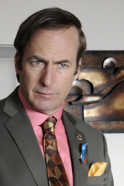 Saul Goodman (Bob Odenkirk) - Breaking Bad - Season 4, Episode 3 - Photo Credit: Ursula Coyote/AMC - BBEpisode403Day3(CamA2)-145