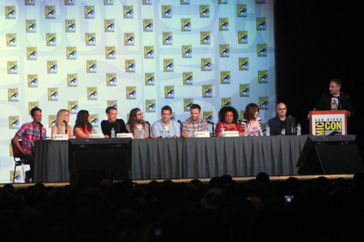 "Cast of Community speak at ""Community"" School is Back in Session Panel during Comic-Con International 2012"