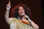 ATLANTA, GA - MARCH 05:  The Queen of Soul Aretha Franklin performs at The Fox Theatre on March 5, 2012 in Atlanta, Georgia.  (Photo by Rick Diamond/Getty Images for The Fox Theatre)