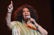 The Queen of Soul Aretha Franklin performs at The Fox Theatre on March 5, 2012 in Atlanta, Georgia.