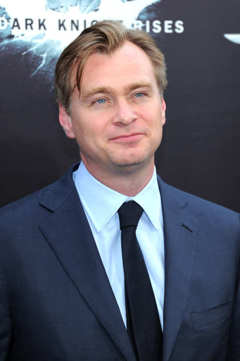 "Director Christopher Nolan attends ""The Dark Knight Rises"" New York Premiere at AMC Lincoln Square Theater on July 16, 2012 in New York City."